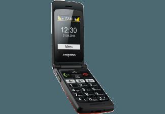 Produktbild EMPORIA F220 Flip Basic  2.2 Zoll  Rot