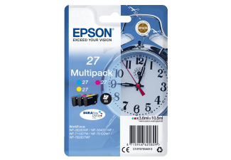 Produktbild EPSON Multipack 3-colour 27 DURABrite Ultra Ink