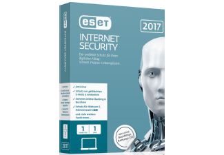 Produktbild ESET Internet Security 2017 Edition 1 User