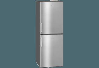Produktbild EXQUISIT KGC233/60-4.1  Kühlgefrierkombination  A+++  109 kWh/Jahr  1470 mm hoch  Edelstahl