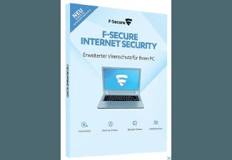 Produktbild F-Secure Internet Security - 2017 (1 Jahr / 1 Computer)