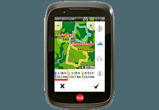 Produktbild FALK TIGER GEO  Fahrrad  Outdoor  Geocaching Navigationsgerät  3.5 Zoll  Kartenmaterial Europa