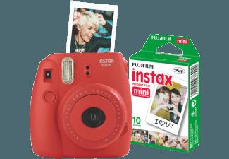 Produktbild FUJIFILM Instax Mini 8 + Film  Sofortbildkamera