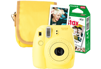Produktbild FUJIFILM INSTAX MINI 8 GELB TRAVEL SET