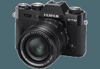 Produktbild FUJIFILM X-T10 Systemkamera  16.3 Megapixel  CMOS II Sensor  WLAN  18-55 mm Objektiv  Autofokus