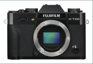 Produktbild FUJIFILM X-T20 - Gehäuse Systemkamera  24.3 Megapixel  4K  APS-C X-Trans CMOS III Sensor  Externer