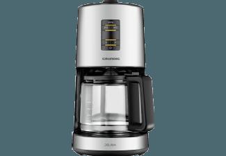 Produktbild GRUNDIG KM 7680  Kaffeemaschine  Edelstahl/Schwarz
