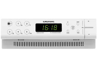 Produktbild GRUNDIG Sonoclock 690  Küchenradio  Weiß