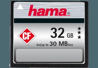 Produktbild HAMA 090974 Compact Flash Speicherkarte  32 GB  30
