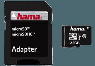 Produktbild HAMA 114734 Micro-SDHC Speicherkarte  32 GB  45 MB/s  Class