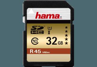 Produktbild HAMA 114943 SDHC Speicherkarte  32 GB  45 MB/s  Class