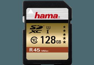 Produktbild HAMA 114945 SDXC Speicherkarte  128 GB  45 MB/s  Class