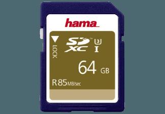 Produktbild HAMA 114949 SDXC Speicherkarte  64 GB  85 MB/s  UHS Class