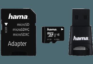 Produktbild HAMA 114954 Micro-SDXC Speicherkarte  64 GB  360 Mbit/s  UHS Class