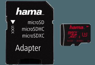 Produktbild HAMA 123982 + A/F Micro-SDHC Speicherkarte  64 GB  80 MB/s  UHS Class