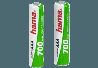 Produktbild HAMA 2er Pack  AAA Micro  700 mAh
