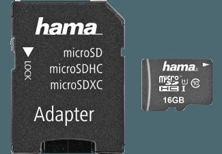 Produktbild HAMA Action Micro-SDHC Speicherkarte  16 GB  45 Mbit/s  Class