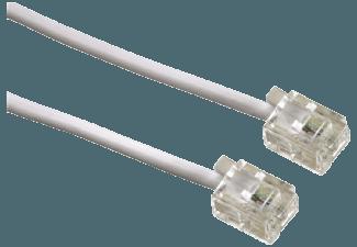 Produktbild HAMA Stecker 6p4c Modularkabel  6 m