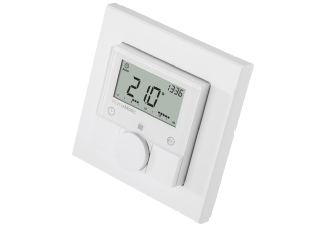 Produktbild HOMEMATIC 132030 HM-TC-IT-WM-W-EU  Funk-Wandthermostat  System: HomeMatic