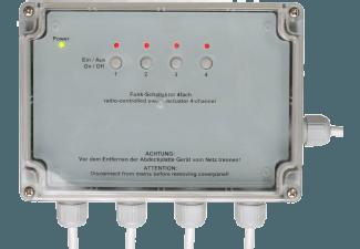 Produktbild HOMEMATIC 76796 HM-LC-SW4-SM  Funk-Schaltaktor  System: