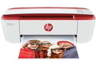 Produktbild HP DeskJet 3732 All-in-One-Drucker  Weiß/Rot