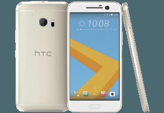 Produktbild HTC 10  Smartphone  32 GB  5.2 Zoll  Gold  LTE