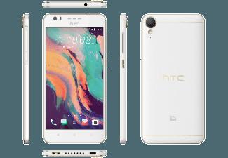 Produktbild HTC Desire 10 lifestyle  Smartphone  32 GB  5.5 Zoll  polar-weiß