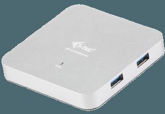 Produktbild I-TEC U3HUBMETAL4  USB 3.0 HUB  Silber