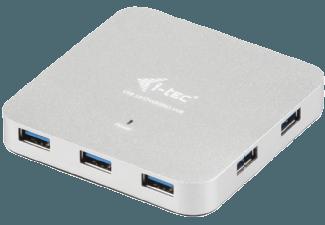Produktbild I-TEC U3HUBMETAL7  USB Hub  Silber