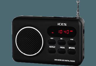 Produktbild ICES IMPR-112  Radio  Schwarz