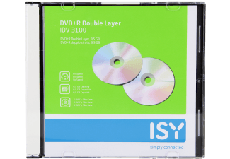 Produktbild ISY IDV-3100  DVD+R Double Layer