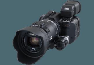 Produktbild JVC GC-PX100BEU  Camcorder  CMOS Sensor  JVC  10x opt. Zoom  Bildstabilisator  WLAN