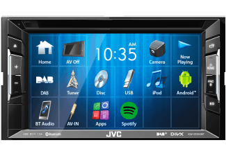 Produktbild JVC KW-V235DBT  Autoradio  2 DIN (Doppel-DIN)  Ausgangsleistung/Kanal: 50