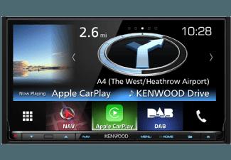 Produktbild KENWOOD DNX8160DABS  Navitainer  2 DIN (Doppel-DIN)  Ausgangsleistung/Kanal: 50