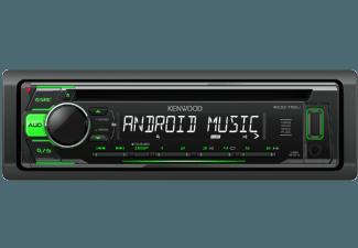 Produktbild KENWOOD KDC-110UG  Autoradio  1 DIN  Ausgangsleistung/Kanal: 50