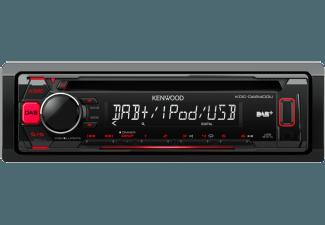 Produktbild KENWOOD KDC-DAB400U  Autoradio  1 DIN  Ausgangsleistung/Kanal: 4x 50