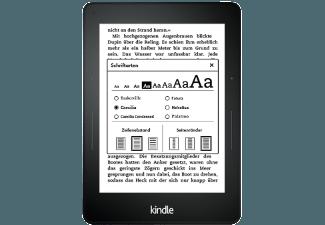 Produktbild KINDLE VOYAGE 4GB WIFI  15 cm (6 Zoll)  4 GB  180 g