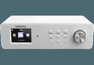 Produktbild LENCO KCR-2014  Küchenradio  Weiß