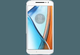 Produktbild LENOVO Moto G4  Smartphone  16 GB  5.5 Zoll  Weiß