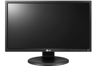 Produktbild LG 24MB35PH-B  Monitor mit 60.45 cm / 23.8 Zoll Full-HD Display  5 ms Reaktionszeit  Anschlüsse: