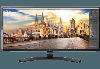 Produktbild LG 34UM68-P  Monitor mit 86.36 cm / 34 Zoll  5 ms Reaktionszeit  Anschlüsse: 2x HDMI  1x