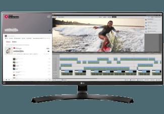 Produktbild LG 34UM88C-P  Monitor mit 86.36 cm / 34 Zoll  5 ms Reaktionszeit  Anschlüsse: 2x HDMI  1x