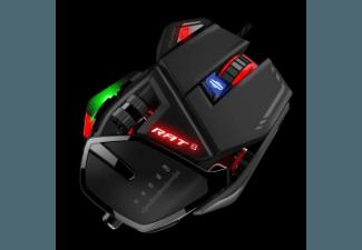 Produktbild MAD CATZ MCB4373200A3/04/1 RAT 6  Gaming-Maus  kabelgebunden