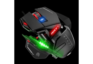 Produktbild MAD CATZ MCB4373300A3/04/1 RAT 8  Gaming-Maus  kabelgebunden