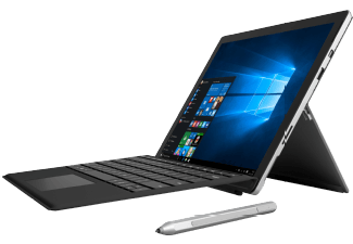 Produktbild MICROSOFT Surface Pro 4 inkl. Surface Pro 4 Type Cover Schwarz, Convertible mit 12.3 Zoll, 4 GB