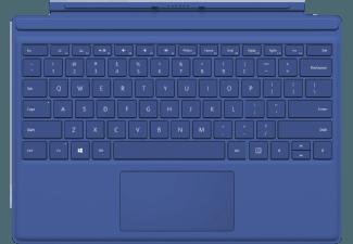Produktbild MICROSOFT Surface Pro 4 Type Cover Blau