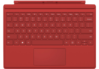 Produktbild MICROSOFT Surface Pro 4 Type Cover Rot