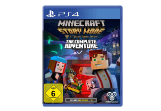 Produktbild Minecraft Story Mode - The Complete Adventure - PlayStation