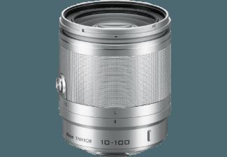 Produktbild NIKON 1 NIKKOR VR 10-100mm 10 mm-100 mm f/4-5.6  Reisezoom  System: Nikon 1  Bildstabilisator
