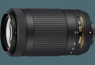 Produktbild NIKON AF-P DX 70-300/4 5-6 3 ED VR 70 mm-300 mm Objektiv f/4.5-6.3  System: Nikon AF